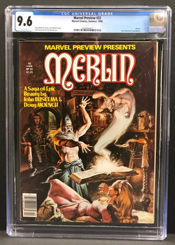 Marvel Preview #22 CGC 9.6