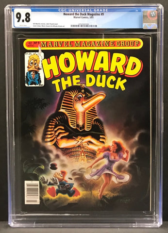 Howard the Duck Magazine #9 CGC 9.8