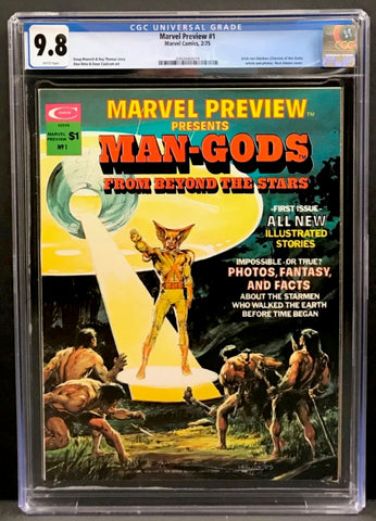 Marvel Preview #1 CGC 9.8