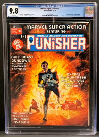 Marvel Super Action #1 CGC 9.8