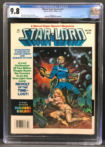Marvel Super Special #10 CGC 9.8