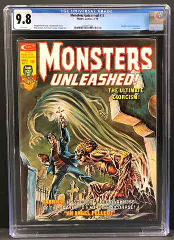 Monsters Unleashed #11 CGC 9.8