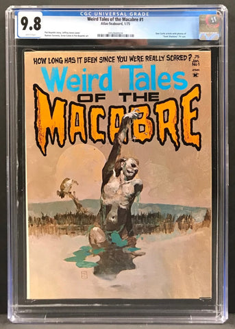 Weird Tales of the Macabre #1 CGC 9.8
