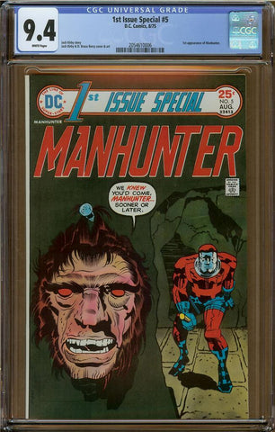 1st Issue Special #5 CGC 9.4