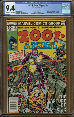 2001: A Space Odessey #8 CGC 9.4