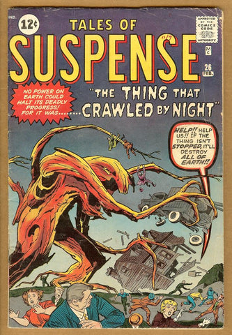 Tales of Suspense #26 G/VG