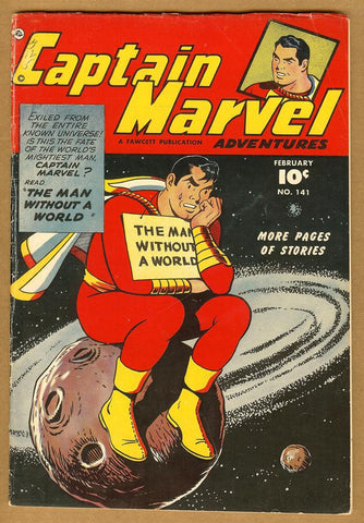 Captain Marvel Adventures #141 VG+