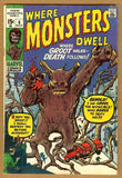 Where Monsters Dwell #6 VG