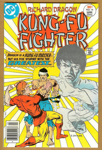 Richard Dragon, Kung-Fu Fighter #14 VF/NM