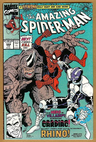 Amazing Spider-Man #344 NM