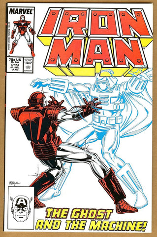 Iron Man #219 NM-