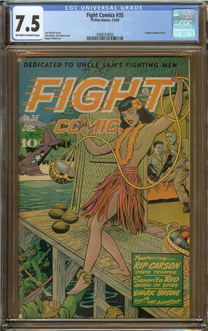 Fight Comics #35 CGC 7.5