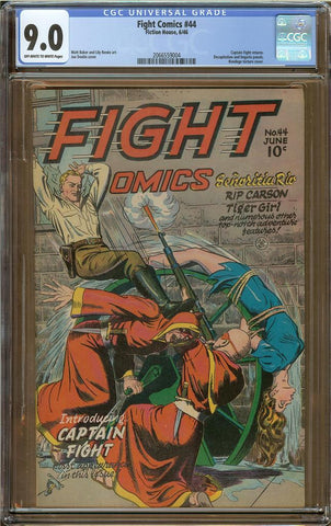 Fight Comics #44 CGC 9.0