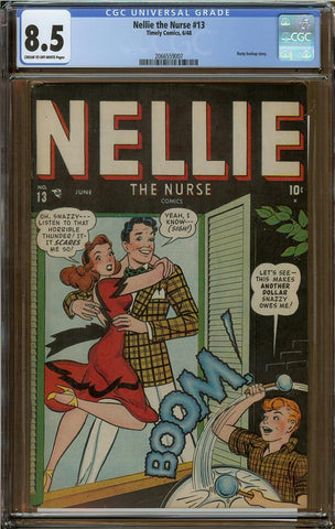 Nellie the Nurse #13 CGC 8.5