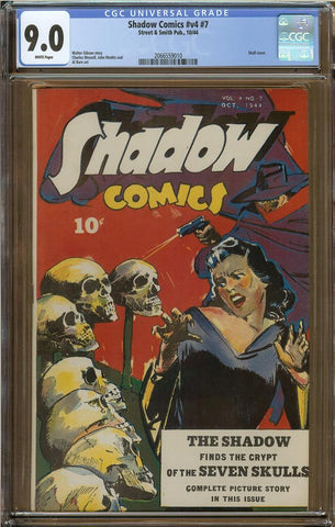 Shadow Comics V4 #7 CGC 9.0
