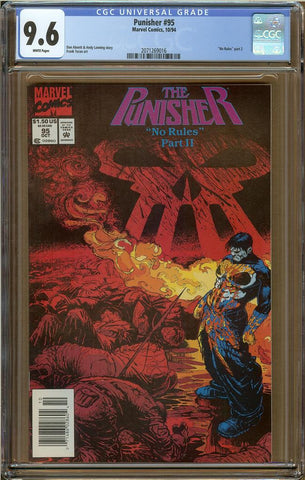 Punisher #95 CGC 9.6