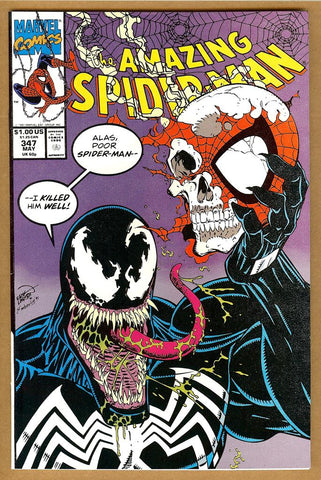 Amazing Spider-Man #347 NM-