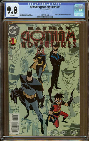 Batman:Gotham Adventures #1 CGC 9.8