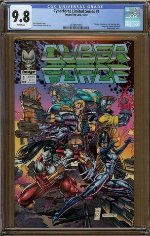 Cyberforce Limited Series #1 CGC 9.8