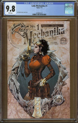 Lady Mechanika #1 CGC 9.8