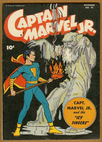 Captain Marvel Jr #45 F/VF