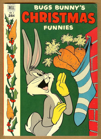 Dell Giant Comics: Bugs Bunny Christmas Funnies #3 VF-