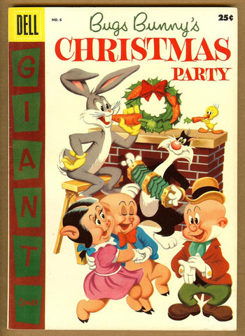 Dell Giant Comics: Bugs Bunny Christmas Party #6 VF
