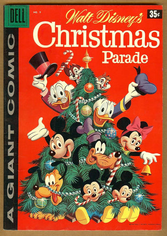 Dell Giant Comics: Christmas Parade #9 VG/F