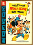 Dell Giant Comics: Mickey Mouse Club Parade #1 VF+