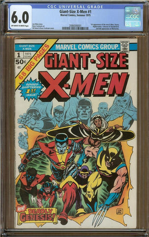 Giant-Size X-men #1 CGC 6.0