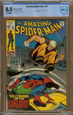 Amazing Spider-Man #081 CBCS 8.5