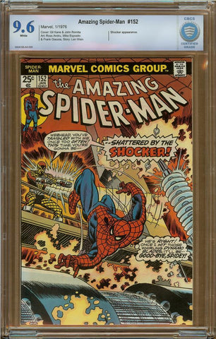Amazing Spider-Man #152 CBCS 9.6