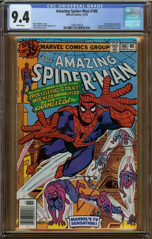 Amazing Spider-Man #186 CGC 9.4