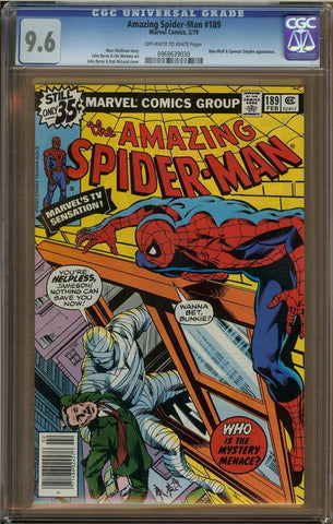 Amazing Spider-Man #189 CGC 9.6