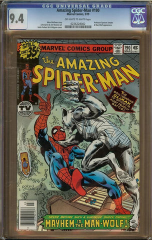 Amazing Spider-Man #190 CGC 9.4