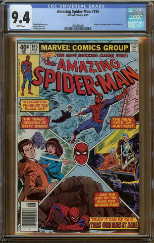 Amazing Spider-Man #195 CGC 9.4