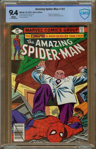 Amazing Spider-Man #197 CBCS 9.4