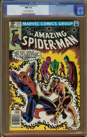 Amazing Spider-Man #215 CGC 9.6