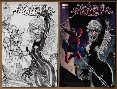 Amazing Spider-Man #15 Aspen Variant Set