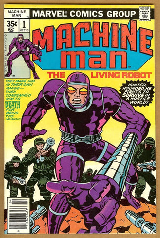Machine Man #1 VF/NM