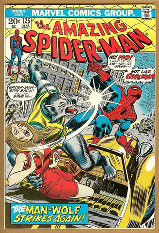 Amazing Spider-Man #125 VG/F