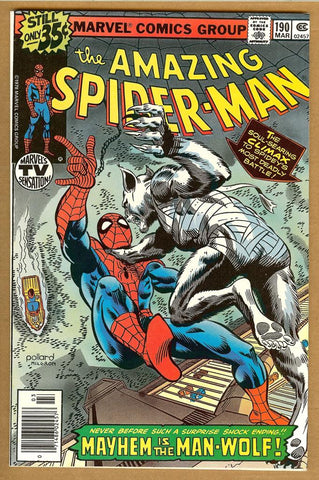Amazing Spider-Man #190 VF+