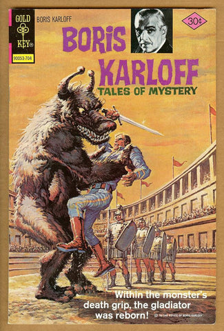 Boris Karloff Tales of Mystery #74 VF
