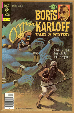 Boris Karloff Tales of Mystery #79 VF+