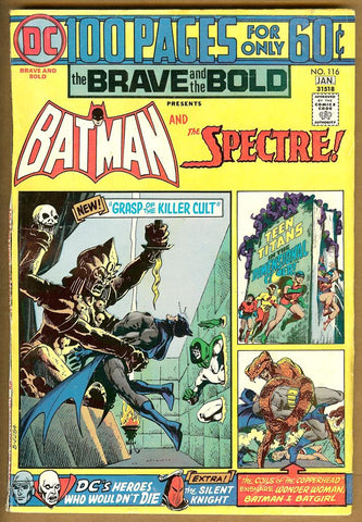 Brave and the Bold #116 VG+