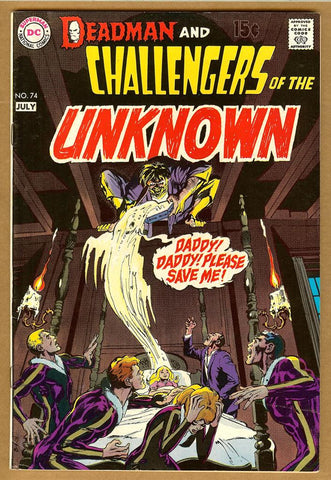 Challengers of the Unknown #74 F/VF