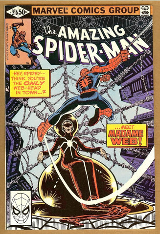 Amazing Spider-Man #210 F/VF