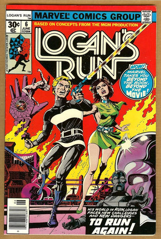 Logan's Run #6 VF-
