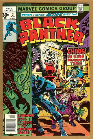 Black Panther #03 NM-