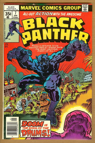 Black Panther #07 VF